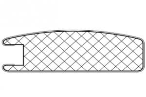 Рамочный профиль №31 - Оптовый поставщик комплектующих «АртПрофиль»