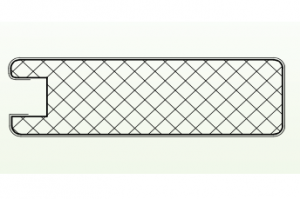 Рамочный профиль №37 - Оптовый поставщик комплектующих «АртПрофиль»