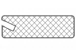 Рамочный профиль №37/55К - Оптовый поставщик комплектующих «АртПрофиль»
