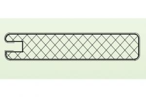 Рамочный профиль №37/80/12 - Оптовый поставщик комплектующих «АртПрофиль»