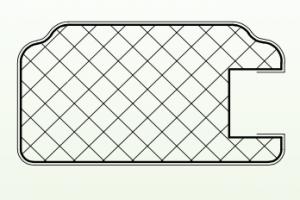 Рамочный профиль №822 - Оптовый поставщик комплектующих «АртПрофиль»