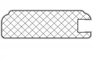 Рамочный профиль №EL38 - Оптовый поставщик комплектующих «АртПрофиль»
