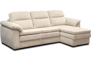 Раскладной диван Чарли с оттоманкой - Мебельная фабрика «Диваны express»
