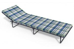 Раскладушка Олеся мягкая - Мебельная фабрика «КемпингГрупп»