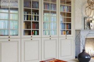 Распашной книжный шкаф Nicolle - Мебельная фабрика «Мария»