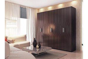 распашной шкаф Наяда - Мебельная фабрика «Роникон»
