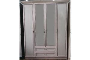 Распашной шкаф патина - Мебельная фабрика «Мебельный стиль»