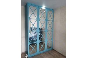 Распашной шкаф с фасадом Перекрестие - Мебельная фабрика «МЭК»