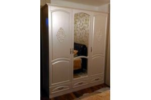 Распашной шкаф с фрезеровкой - Мебельная фабрика «Меркурий»