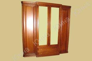 Распашной шкаф с зеркалами - Мебельная фабрика «ЮННА»