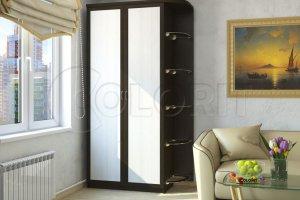 Распашной Шкаф ШР3-ШР5 - Мебельная фабрика «Колорит»