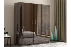 Распашной шкаф Сицилия 5 - Мебельная фабрика «IRIS»