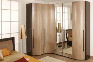 распашной шкаф угловой - Мебельная фабрика «MipoLine»