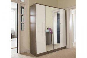 распашной шкаф в коридор - Мебельная фабрика «MipoLine»