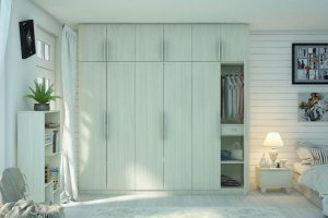 Распашной шкаф в спальню - Мебельная фабрика «MipoLine»