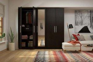 распашной шкаф венге - Мебельная фабрика «MipoLine»
