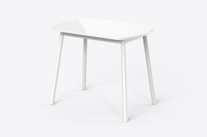 Стол раздвижной Раунд со стеклом - Мебельная фабрика «MAMADOMA»