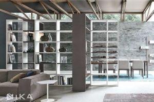 Разделительный стеллаж Дублин STL7 - Мебельная фабрика «NIKA premium»