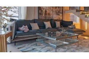 Респектабельный диван Palazzo - Мебельная фабрика «LORUSSO»