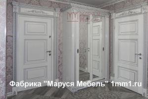 Резная белая прихожая - Мебельная фабрика «Маруся мебель»