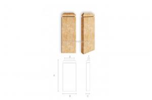 Резная пилястра BS-002 - Оптовый поставщик комплектующих «Ставрос»