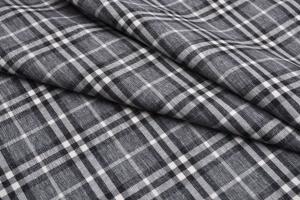 Рогожка мебельная CHECK grey - Оптовый поставщик комплектующих «Аметист»