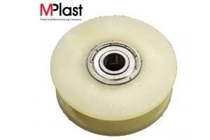 Ролик P43/ПА направляющий полиамидный - Оптовый поставщик комплектующих «Мир Пластмасс»