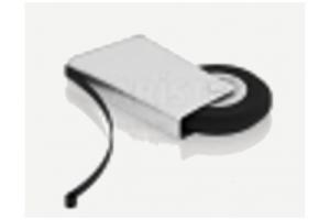 Ролик нижний для шкафа-купе Арт.18200 - Оптовый поставщик комплектующих «КБК»