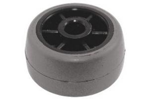Ролик Р26/РЕ опорный обрезиненный - Оптовый поставщик комплектующих «Мир Пластмасс»