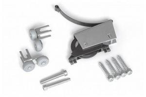 Ролик-стопор 2в1 для шкафа-купе ПРЕМИУМ - Оптовый поставщик комплектующих «Profial»
