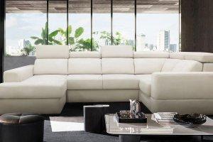 Угловой диван с оттоманкой Romantic - Мебельная фабрика «Комфорт Плюс»