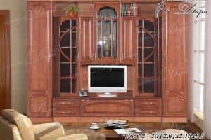 Гостиная Рось-2 - Мебельная фабрика «Дара»