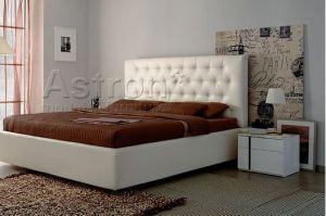Роскошная кровать Caddy с ромбовидными утяжками - Мебельная фабрика «Астрон»