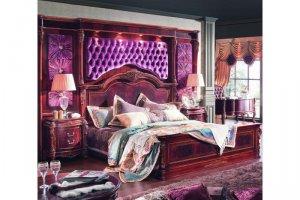 Роскошная спальня в стиле барокко ALEKSANDRIA - Импортёр мебели «AP home»