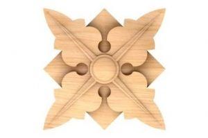 РОЗЕТКА Артикул: 6-013 - Оптовый поставщик комплектующих «Мебельная мастерская Строгановых»