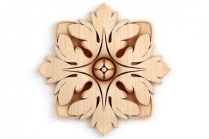 РОЗЕТКА Артикул: 6-049 - Оптовый поставщик комплектующих «Мебельная мастерская Строгановых»