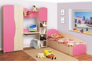 розовая мебель для девочки - Мебельная фабрика «SaEn»