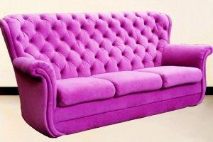 Розовый Диван -кровать Верона-2С  - Мебельная фабрика «Наша мебель»