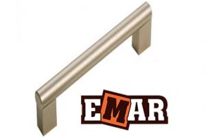 Ручка для кухни EMC 0002 сталь - Оптовый поставщик комплектующих «Емар»