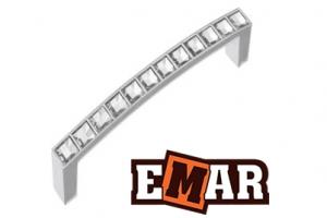 Ручка для кухни EСC 0065 под золото и хром - Оптовый поставщик комплектующих «Емар»