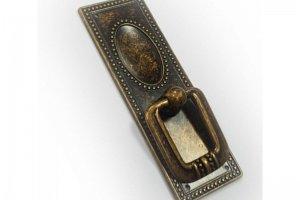 Ручка кнопка 3211 S, бронза - Оптовый поставщик комплектующих «Виком»