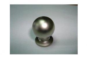 Ручка кнопка 6041-02 никель мат. (50*) - Оптовый поставщик комплектующих «Виком»