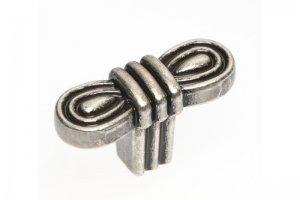 Ручка кнопка 6106S античный никель - Оптовый поставщик комплектующих «Озёрская фурнитурная компания»