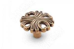Ручка-кнопка бронза Орваль WPO.829.000.00A8 - Оптовый поставщик комплектующих «МДМ-Комплект»