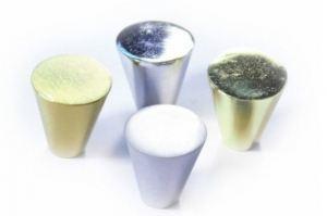 Ручка кнопка К-1030 ОТ, золото (100*) - Оптовый поставщик комплектующих «Виком»