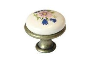 Ручка-кнопка L978-MLK-1, керамика - Оптовый поставщик комплектующих «МФ-КОМПЛЕКТ»
