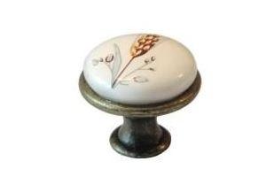 Ручка-кнопка L978-MLK-5, керамика - Оптовый поставщик комплектующих «МФ-КОМПЛЕКТ»