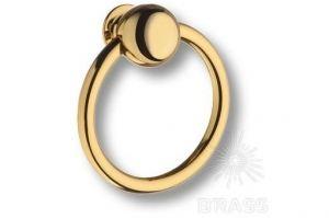 Ручка кольцо латунь 07106-003-2 - Оптовый поставщик комплектующих «Брасс»