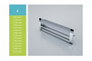 Ручка мебельная G 128-02 - Оптовый поставщик комплектующих «СЛ Дон»