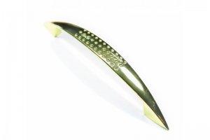 Ручка скоба 345/2-96 золото (60*) к6114 - Оптовый поставщик комплектующих «Виком»